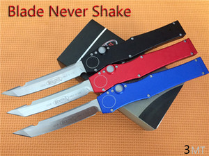 """En iyi fiyat! Mikro HaIo-V Tech Tanto Bıçak Kydex kılıf ile (4.6"""" Saten) 150-4 Çift etkili Taktik bıçak Survival dişli bıçaklar"""