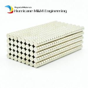 Ndfeb Micro Magnet Disc Dia. 5x3 Mm 정밀 자석 네오디뮴 자석 센서 희토류 Tinny Magnets N42 Nicuni 200-5000pcs