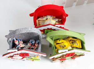 هدية عيد الميلاد سانتا كيس حلوى عيد ميلاد سعيد الجيب الرئيسية مخزن هدية ديكور