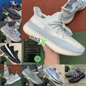 adidas yeezy 350 V2 Static 3M Reflective Boost sply 350 V2 Yeeyz Shoes V2 Sport Citrin Cloud White Synth Argilla Zebra delle donne degli uomini 2.0 Trainer Shoes