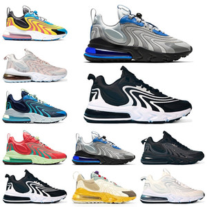 React ENG Mens Trainers Running Shoes Bauhuas Triple Black White Athletics Outdoor Men Women Sports Sneakers Size 36-45 Online Sale
