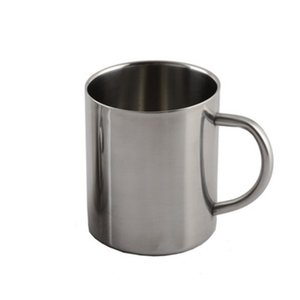 New 220ml 300ml 400ml Portable Handle Stainless Steel Mug Cup Heat Resistant Double Wall Travel Tumbler Coffee Mug Cup