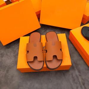 Hermes edição completa de vison chinelos home hotel Últimas Luz e solas confortáveis Womens macio morno Fur chinelos de couro tamanho 38-44