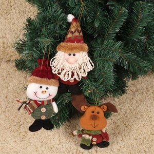 Hanging Gifts Christmas Tree Decor Ornament Xmas Snowman Reindeer Doll Santa Claus Home