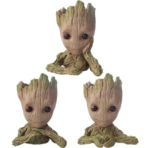 cute Funko POP i am groot Vinyl Action anime Figures toy for Collection Model Toys for Christmas Gifts toy home flower decoration