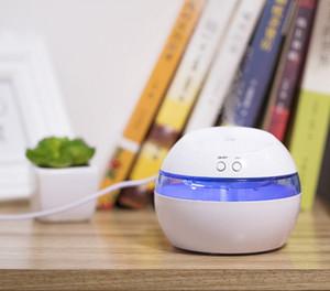 Pocket Humidifier USB Air Purifier LED Lights Essential Oil Aroma Diffusers Mini Car Air Purifier Home Decor 4 Colors LQP-YW2891