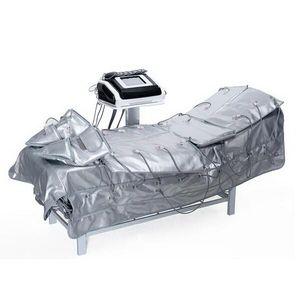 3 1 Uzak Kızılötesi Pressotherapy EMS Elektrikli Kas Stimülasyon Isı Sauna Hava Basıncı Pressotherapy Lenf Drenaj Vücut Detoks Ekipmanları