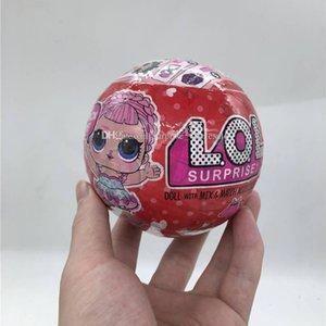 Serie 10cm 3 Red Can light glitter Bambola in edizione limitata New Dolls Girls 'Egg Toys giocattolo per bambini staccabile.