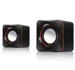 Neue Mini Tragbare Kabel-Tablet-Computer USB-Lautsprecher Multimedia-Stereo-Sound-Lautsprecher für Laptops-PC-Telefon 3.5mm aux
