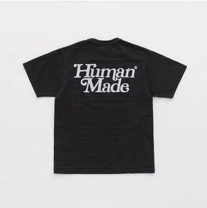 19SS Design Été humain Fait T-shirt Homme Femme Mode respirables Streetwear Sweat Outdoor T-shirts en coton