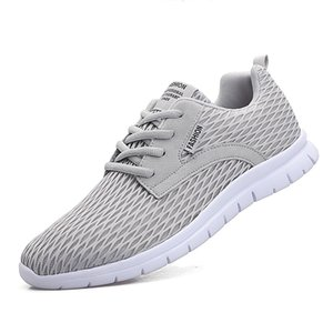 Hot Sale Men Casual Shoes Mesh Sneakers Walking Breathable, Lightweight 2020 New High Quality Male Outdoor Footwear Big Size 47