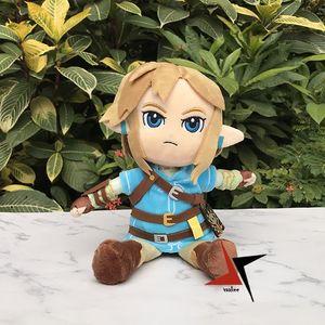 27 centimetri Bella link peluche The Legend of Zelda: Breath of the Wild giocattolo farcito bambola giocattolo regalo Nuovo