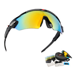 Specialized MIlitary Tactical Goggles 5 Lens Polarized Airsoft Shooting Sunglasses Explosion Proof Hunting CS War Game Glasses