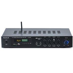 220V 5.1 canais 400W alta potência SD USB FM Bluetooth controle remoto amplificador de potência do amplificador casa AV