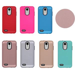 Für LG Stylo 4 MetroPCS LG Aristo 2 MetroPCS X210 LV3 2018 K8 2018 tpu + pc-Rüstungs-Kasten Dual Layer-Schutz-Abdeckung Telefon-Hüllen