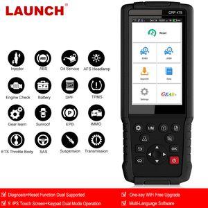 LAUNCH X431 CRP479 OBD2 Scanner EOBD Auto Scanner ABS TPMS DPF IMMO Key EPB Oil Reset OBD2 Car diagnostic Tool LAUNCH X431 WIFI