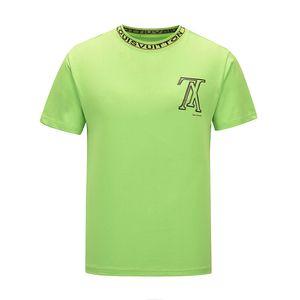 Luxus-Designer-Mode-Klassiker Herren-Biene gestreiftes Stickereihemd Baumwolle Herren-Designer-T-Shirt weiß schwarz designershirt männlich