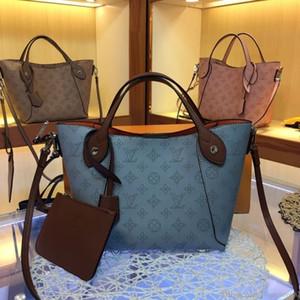 2019 neue freie Verschiffen Frauen Designer-Handtasche echte Leder Art und Weise hochwertige Abnehmbare Reißverschlusstasche insideof