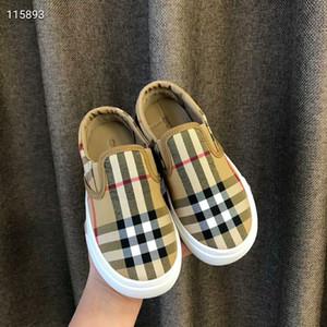 Bambino Designer della scarpa da tennis 2020 nuovo marchio lettere stampate corto di stile di modo dei bambini piana casuale Luxury Shoes Outdoor
