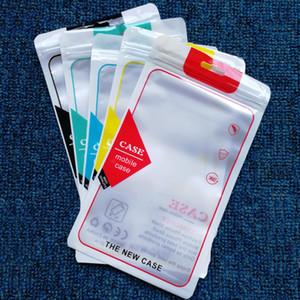 imballaggi cerniera borsa di plastica dell'imballaggio al dettaglio del foro di caduta Poli per il sacchetto di imballaggio poli opp cassa del telefono