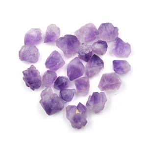 Crystal Individual Amatista Natural de cristal de cuarzo 100g Curación Fluorita de piedra púrpura de la gema natural