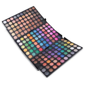Popfeel eye shadow 180 Colors Eye Makeup Shimmer Glitter Professional Long-Lasting Pigment Shadow Powder Waterproof Cosmetic