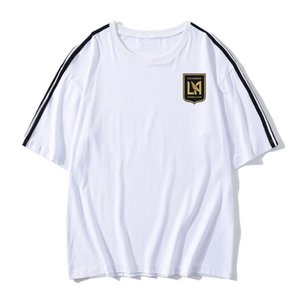 Los Angeles FC Soccer Football T shirt adult Short sleeve Soccer Jerseys summer fashion Leisure Brand Football shirt Men's T-Shirts