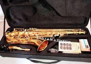 Тенор саксофон Япония Yanagisawa T-902 модель BB играет саксофон Super Professional Tenor Saxofone в гармонии с корпусом бесплатно