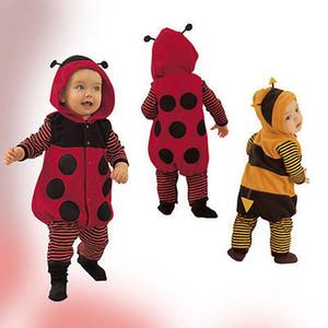 Nouveau-né Bébé enfant en bas âge Toison COCCINELLE BEE Costume Robe mignon Romper tenue 0-24m