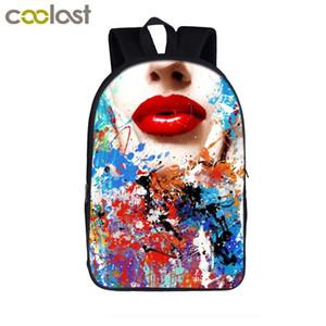 100% новый бренд дизайнер Рюкзак для подростков Девочки Мальчики ранцы Женщины Дорожная сумка для ноутбука Рюкзак Kids Book Bag