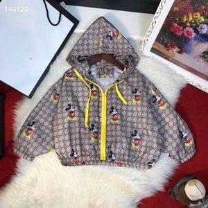 Nuevos 2020 ropa infantil con capucha de Protección Solar capa de la historieta del verano muchachas de los bebés delgada Outwear niños Beach Sun chaqueta