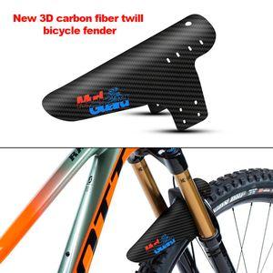 2019 New Mountain Bike Acessórios Mudguard 3d Fibra De Carbono Sarja de Ciclismo Mtb Fender Guarda Lama Traseira Asas Para Produtos Da Bicicleta Da Estrada
