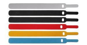 Tel kablo Organizatör Kayış Wrap kravat demeti Tel kablo Tutucu Veri kablosu güç kablosu renkli görünüyor
