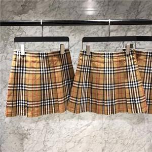 2019 الصيف متقلب الشيفون تنورة نصف تنورة على شكل تنورة