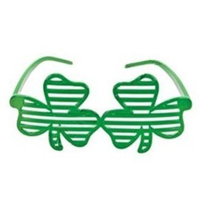 St Patricks Day Decoration Supplies Irish Party Shamrock Clovers Balloons Necklace Glasses Headband