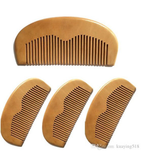 Free transportation of natural mahogany comb hand straight pocket wood beard comb 11.5 * 5.5 * 1cm
