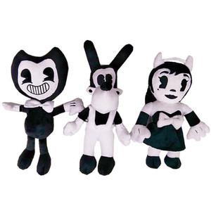 Bendy Dog Bendy and the Ink Machine Plush Toys 30cm Chidlren Thriller Game Plush Dolls For Chidlren Gift Bendy Dog