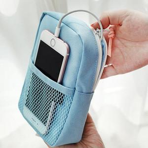 Путешествия портативный цифровые аксессуары организатор водонепроницаемый кабель для хранения данных сумка телефон сумка U диск Power Bank наушники сумки для хранения DH0786