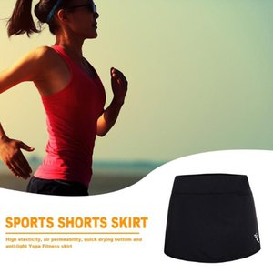 Running Women Active Athletic Skort Lightweight Yoga Pencil Skirts with Pockets Simple and Generous for Outdoor Special Purpose