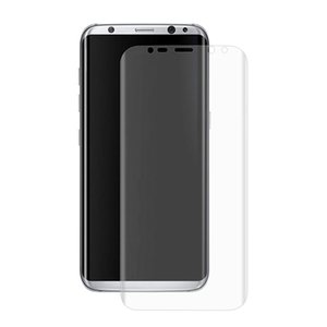0.1mm Ultra-thin PET Screen Protector for Samsung Galaxy S8 3D Heat bending Membrane