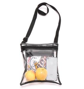 Livraison gratuite 19 Clear Bag Sac à bandoulière pour le sport Effacer approuvé Sac d'épaule. Stade approuvé pour Événements sportifs