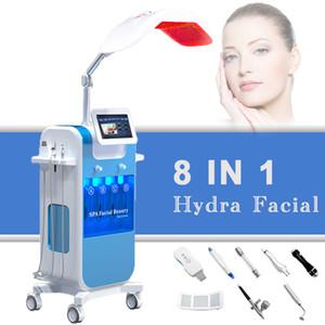 Beste Hydra Dermabrasion professioneller Sauerstoff Gesichts Maschine Mikrodermpeelingsbehandlung Hautstraffung Anti-Aging-Ultraschall Hydra Salongebrauch