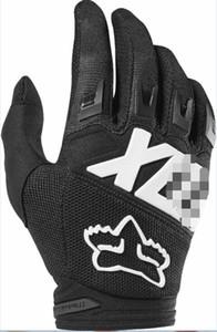 FOX guantes de montar nueva motocicleta todo terreno todas las estaciones guantes resistentes a golpes equipos caballero transpirable