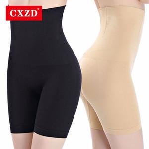 CXZD المرأة عالية الخصر تشكيل سراويل تنفس الجسم المشكل التخسيس البطن داخلية صائغي