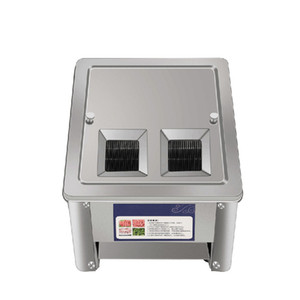 BEIJAMEI Automatische Fleischschneidemaschine 850W Elektrischer Fleischschneider Slicer Kommerzielle Fleischgemüse Schneidemaschine 220V