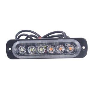 Araba Kamyon Yanıp sönen Işık İtfaiyeciler Acil Işıklar 6 Led Ambulans Polis Strobe Işık Işık Jk0737 Uyarı