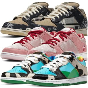 Hot SB Low Pro Strangelove Homens Running Shoes Mulheres Trainers Scot Chunky Dunky CU3244 Sneakers rosa sapatos rasos CT2552-800 CT5053-001