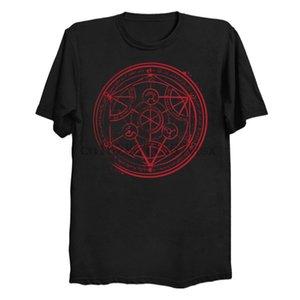 Men t shirt Short sleeve Transmutation Circle Women t-shirt tee tops