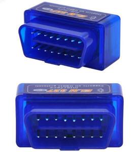 슈퍼 미니 ELM327 블루투스 OBD2 V2.1 지원 스마트 폰과 PC 미니 느릅 나무 327 BT OBD II 스캐너