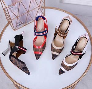 New Fashoin Woman Shoe heels Ladies Flat Female Trend Classics Designer Shoes Elegant Rhinestone Pionted Toes Dress Shoes shoe008 FEN04